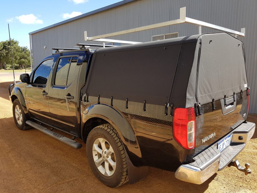 Dual Cab Canopy & Motor Trimming - Esperance Trim and Canvas